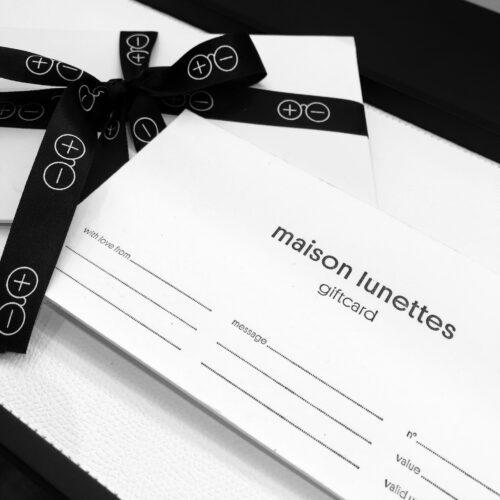 Cadeaubon Maison Lunettes €50